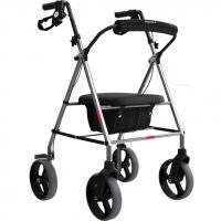 Andador Com 4 Rodas Assento E Cesta - Mercur
